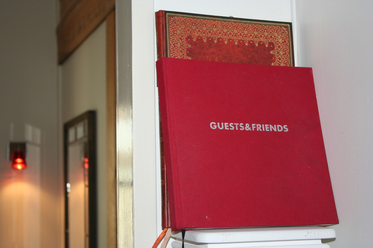 write some words in our Guestbook